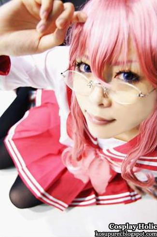 lucky star cosplay - takara miyuki