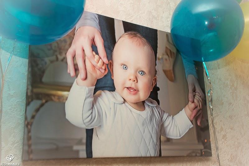 Фотосъёмка дня рождения ребёнка