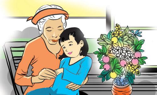 Thơ nhớ về bà nội, bà ngoại kính yêu