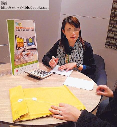 恒生按揭中心職員,表示只要物業申報為自住,最高可借七成按揭。