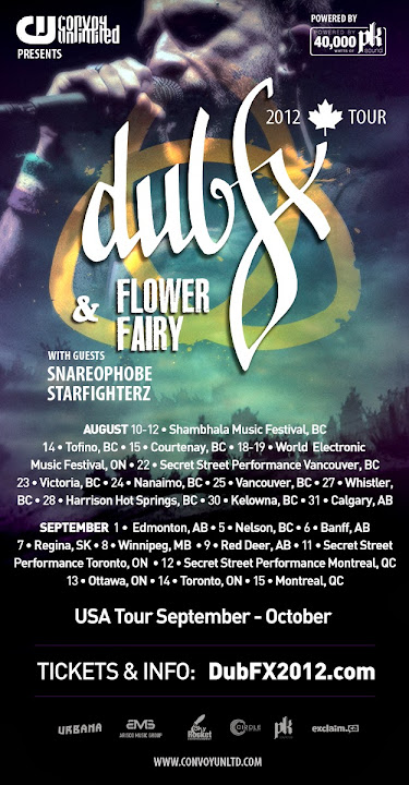 Dub Fx 2012 Tour Canada - USA - North America