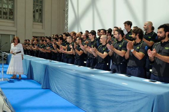 214 nuevos bomberos del Ayuntamiento de Madrid
