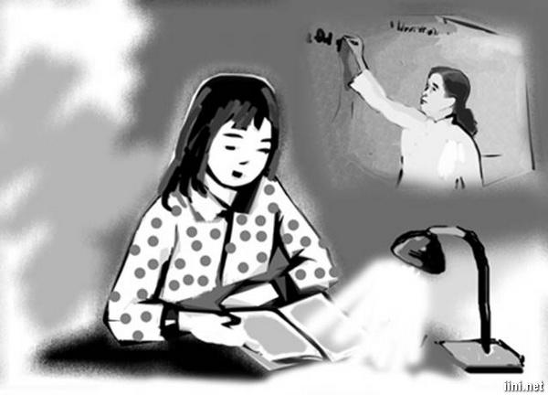 thơ nhớ về thầy cô giáo ngày xưa