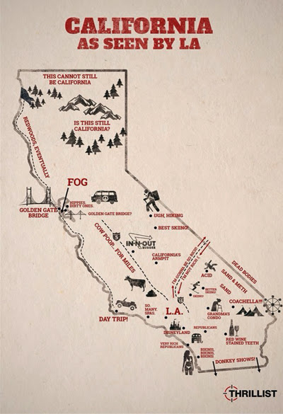 California as seen by Californians Lux and Lace