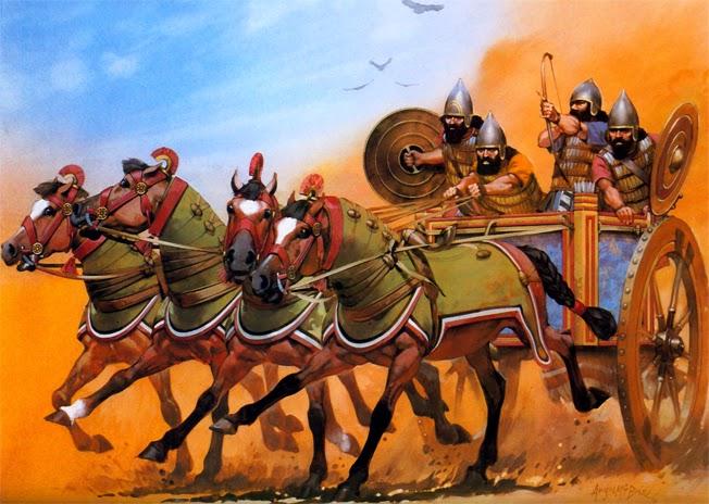 Колесницы Ассирии