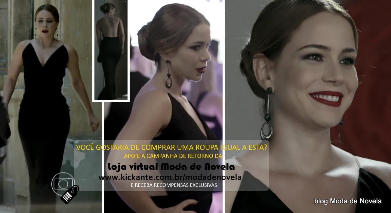 Moda da novela Império, look da Cristina dia 28 de janeiro de 2015