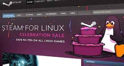 Steam (final) llega a Linux con más juegos y descuentos