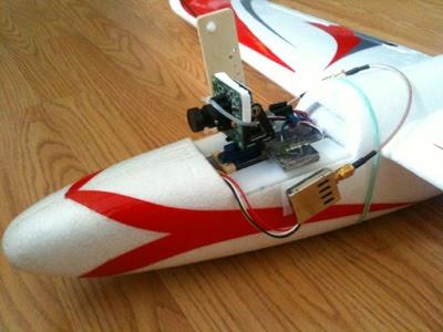 EZ Hawk FPV Setup