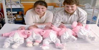 Bayi Kembar Lima Perempuan