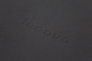 Lenovo IdeaPad K1 back logo