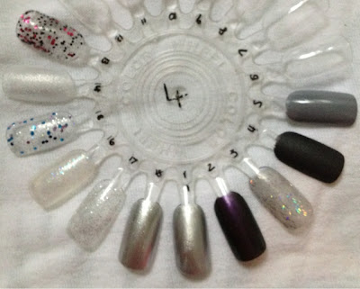 Nail_Wheel_Collection_Black_Silver_Glitters
