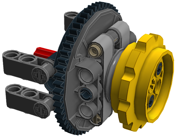 Planetary Geared Drive Assembly