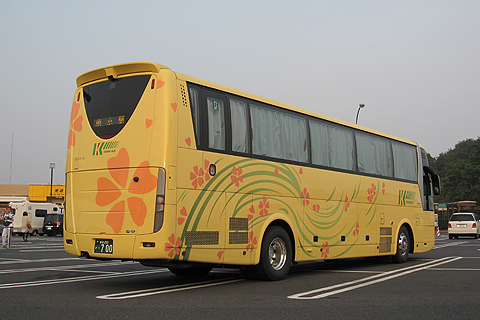 弘南バス「津輕号」 700 佐野SAにて リア