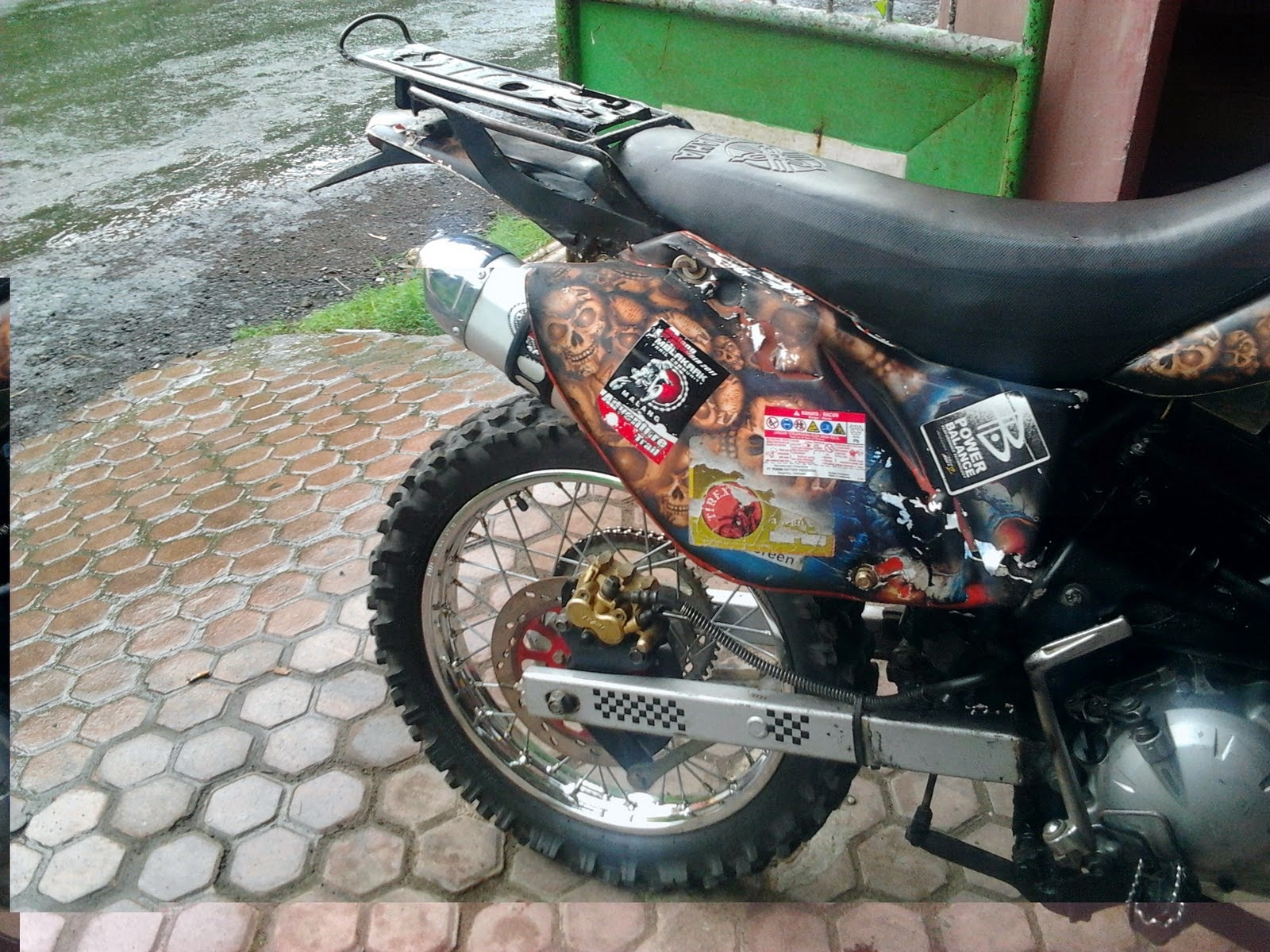 Jupiter Mx Di Modifikasi Trail