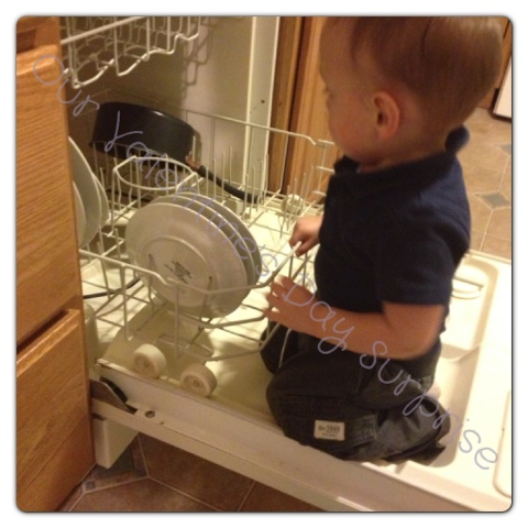Cleaning, Dishwasher, Loading the Dishwasher, Helping Daddy