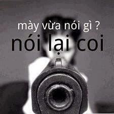 ảnh cmt facebook lấy súng dọa bạn bè