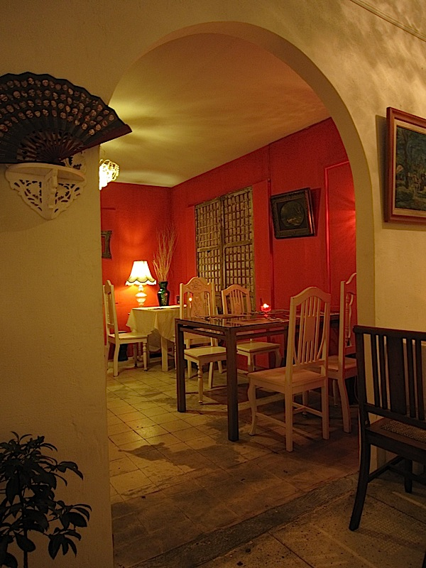interior of Chef Tatung's Garden Cafe