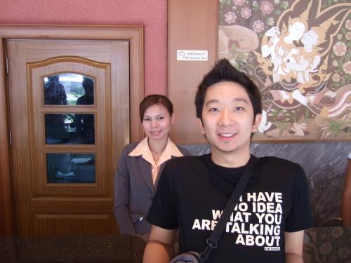 bangkok receptionist