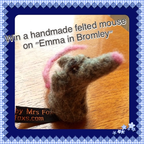 Win a felted mouse