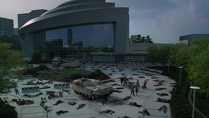 CDC - The Walking Dead Filming Locations.