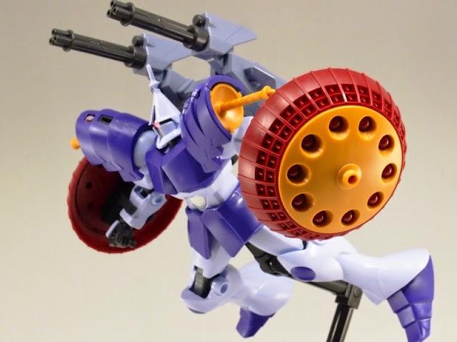 Vũ khí Gundam HG Build Custom 013 Valuable Pod cho Gundam tỏa sáng