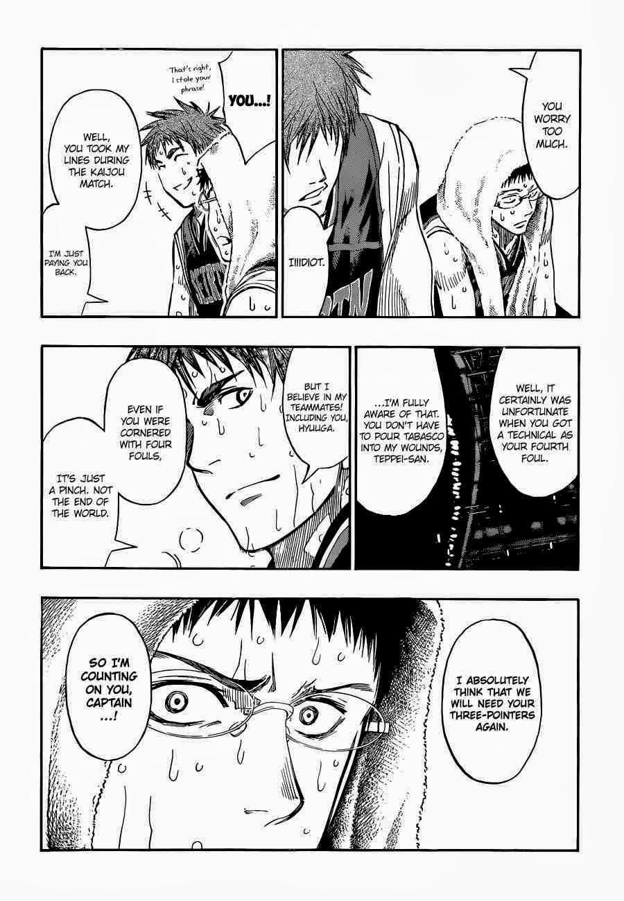Kuroko no Basket Manga Chapter 251 - Image 10