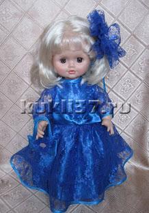 нарядное платье для куклы 2