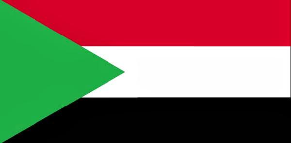 Sudán, bandera
