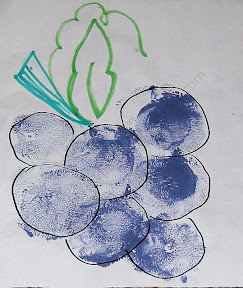 Grape Painting - Balloon Painting