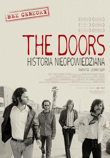 Polski plakat filmu 'The Doors - Historia Nieopowiedziana'