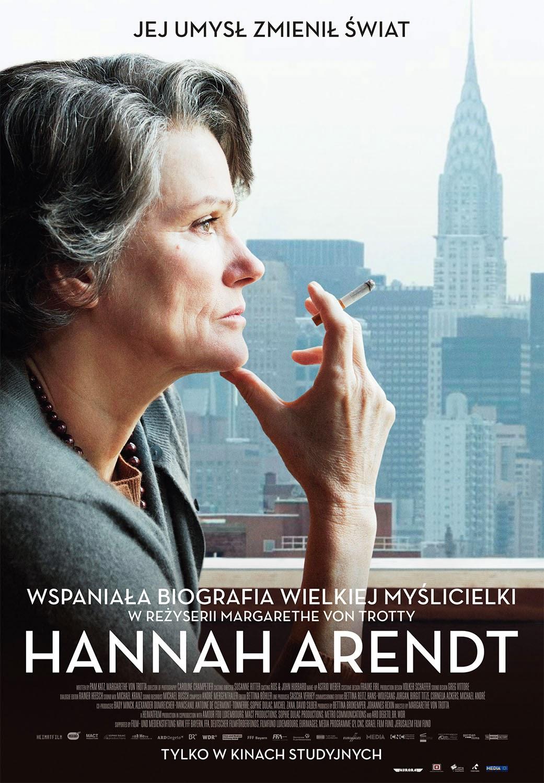 Polski plakat filmu 'Hannah Arendt'