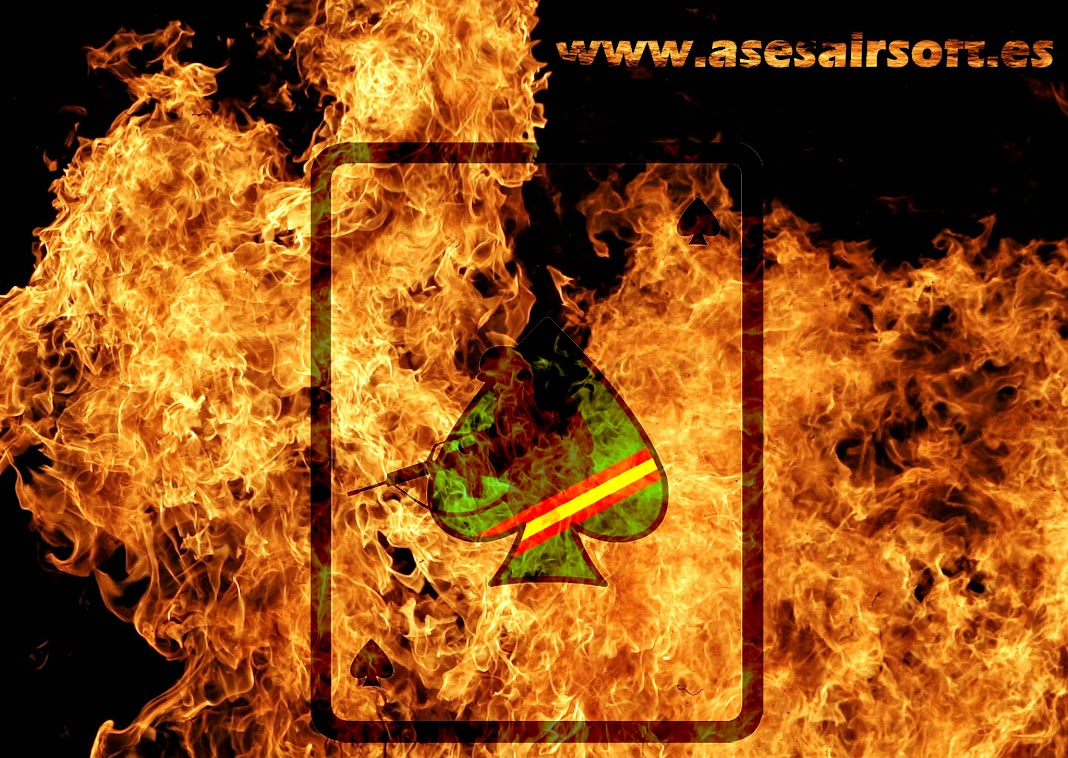 Fondos de pantalla. ASes-fuego