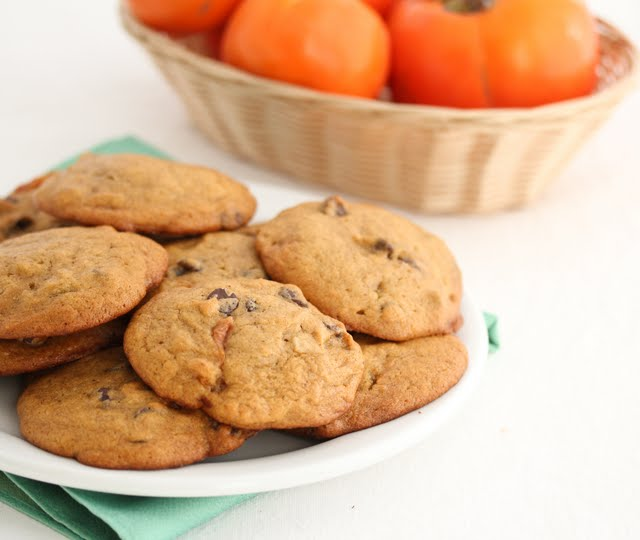 Persimmon Cookies on a plate