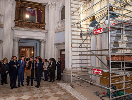 Concluye la primera fase de la rehabilitación del Palacio del Infante Don Luis