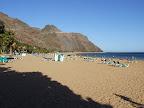 La platja de las Teresitas
