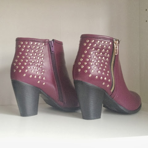 Sammi Jackson - Sleeh Shoes Dale Boot in Burgundy