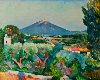 Henri-Charles Manguin - View of Six Fours from Sanary