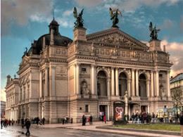 Lviv opera house tour