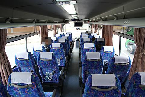 JR四国バス「観音寺エクスプレス」 車内 その2