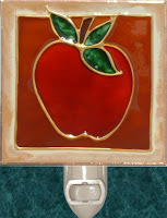 rustic apple with tan and rust frame