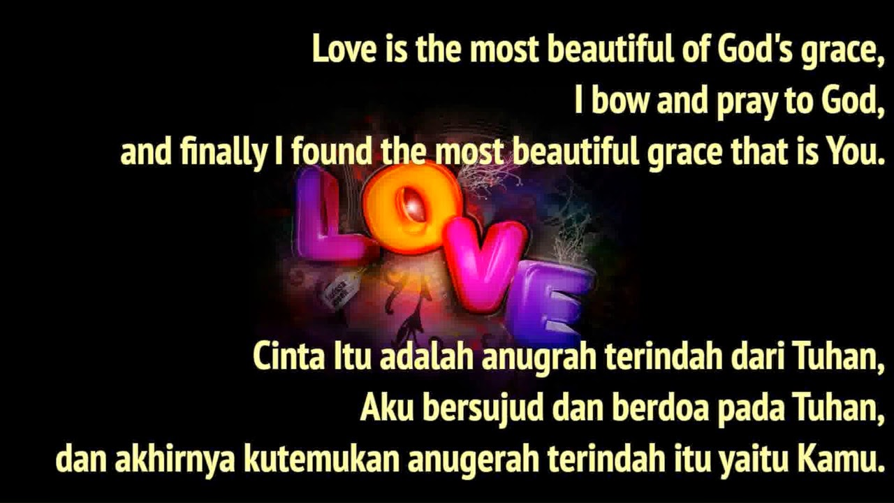 Kata Cinta Dalam Bahasa Inggris Dan Artinya Cikimmcom