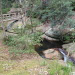 Rock formations and creek near Boarding House Dam in the Watagans (65958)