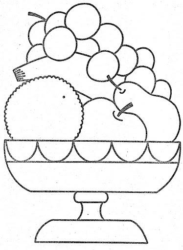 Dibujos De Fruteros Para Colorear E Imprimir