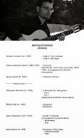Programa de Concierto de Dimitris Kotronakis