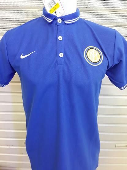 Jual Polo Inter Milan Biru Terbaru 2014-2015