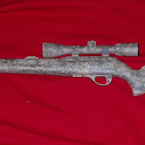 Remington 597 .22lr - Custom Colorado Skull Grunge Camouflage
