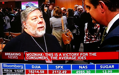 Apple cofounder Steve Wozniak Feb. 26, 2015 net neutrality Bloomberg TV