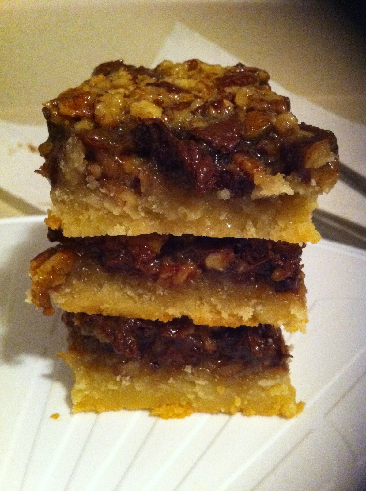 The Cookie Crumbles: Chocolate Bourbon Pecan Pie Bars