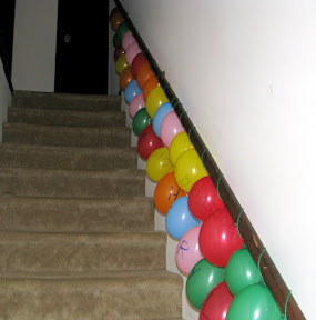 String Balloons with Yarn and Make a Balloon Garland