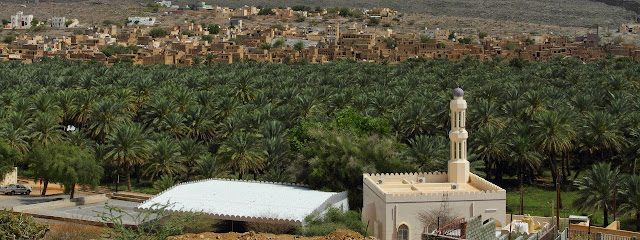 The Scenic oasis town of Al Hamra in Oman